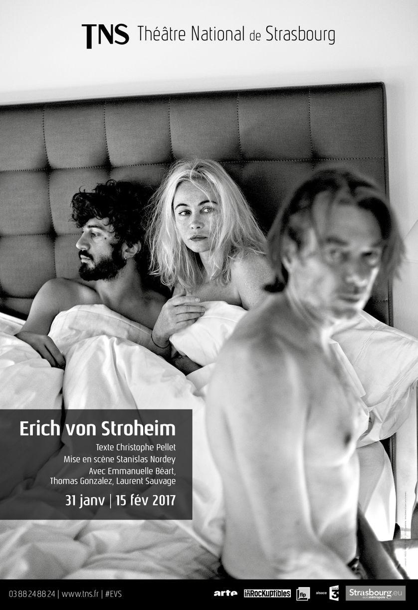 """Affiche """"Erich Von Stroheim"""""""