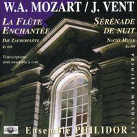 Serenade nº12 en ut min k 388 : menuetto - pour ensemble a vent - Alexandre Peyrol