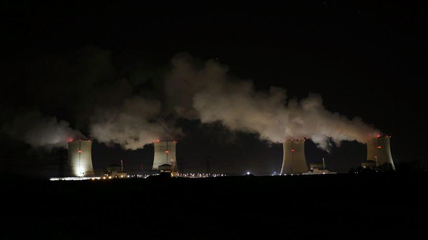 La centrale nucléaire de Cattenom (Moselle)
