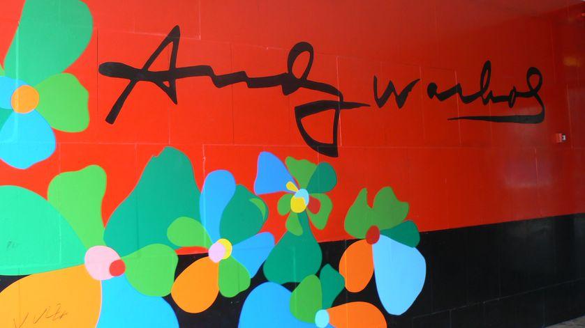 Musée d'art moderne Andy Warhol à Medzilaborce en Slovaquie.