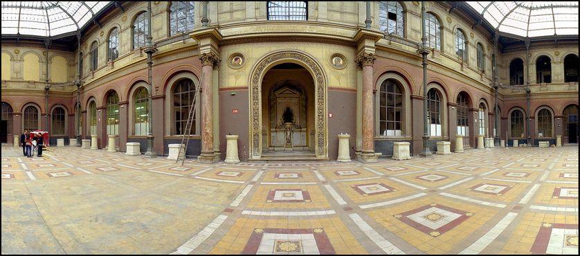 La cour intérieure de l'Ecole des Beaux-Arts à Paris