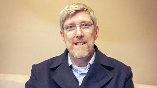 John O'Dowd, membre du Sinn Fein, nationaliste, indépendantiste, a fait campagne contre le Brexit