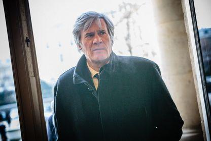 Stéphane Le Foll dans la salle des 4 colonnes en janvier 2017