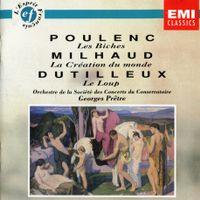 Le loup - deuxième tableau : La chambre nuptiale : La belle et la bête / Ballet d'apres Jean anouilh et Georges neveux