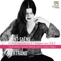 Album : Saint Saëns : Concerto n°1 et sonates n°2 et 3 pour violoncelle HARMONIA MUNDI