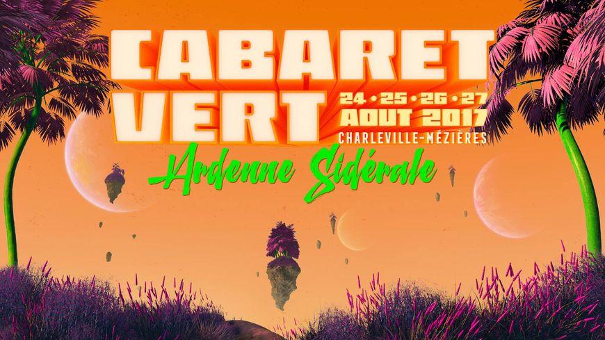 L'affiche du Cabaret vert 2017