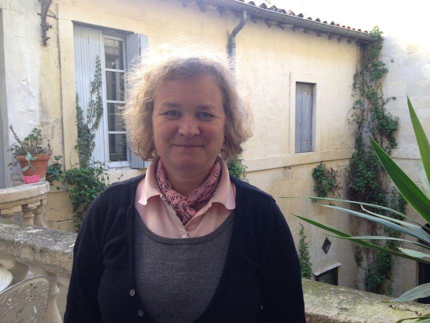 """Magalie Balmefrezol, présidente de l'association """"Droit au sommeil"""" à Montpellier."""