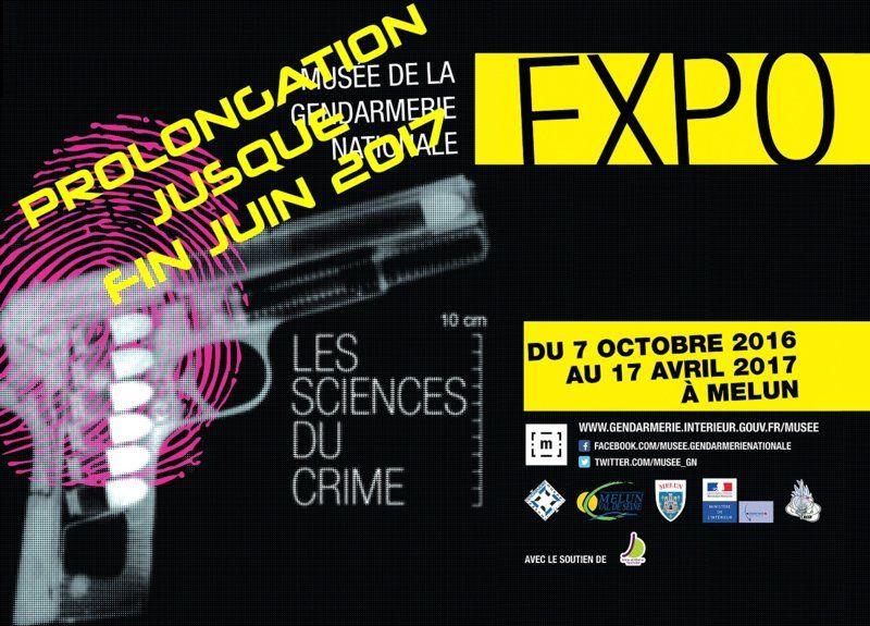 """Exposition """"Les sciences du crime"""""""
