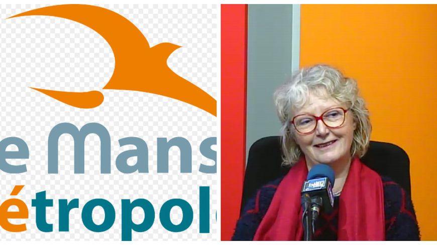Catherine Gouhier, vice-présidente chargée de l'urbanisme à Le mans métropole