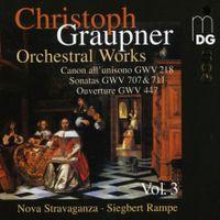 Canon en Si bémol Maj GWV 218 : Tempo giusto - pour 2 hautbois violoncelle et basse continue - Nova Stravaganza