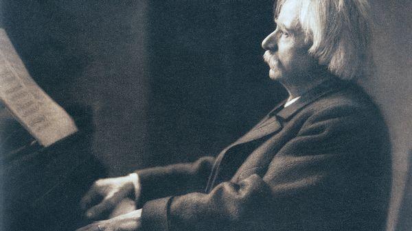 Edvard Grieg à Christiania en 1876 (1/5)