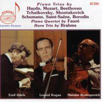 Trio en Ré Maj HOB XV : 16 : pour violon violoncelle et piano