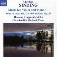 """Suite im alten Stil op 10 """"""""Suite dans un style ancien op 10"""""""" - pour violon et piano : 1 - Presto"""