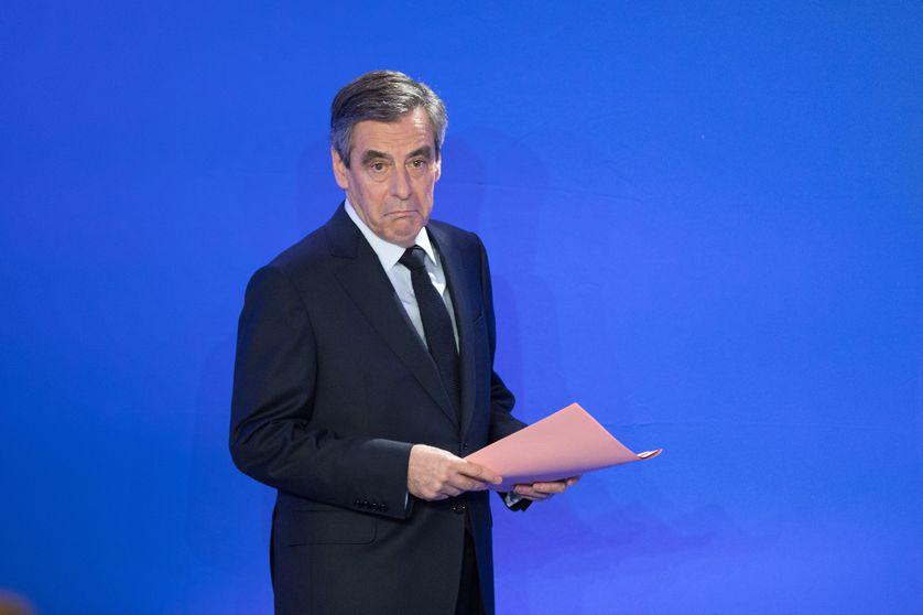 François Fillon lors de sa conférence de presse lundi 6 février