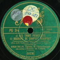 Chansons populaires françaises et canadiennes : Jardin d'amour - pour soprano et orchestre