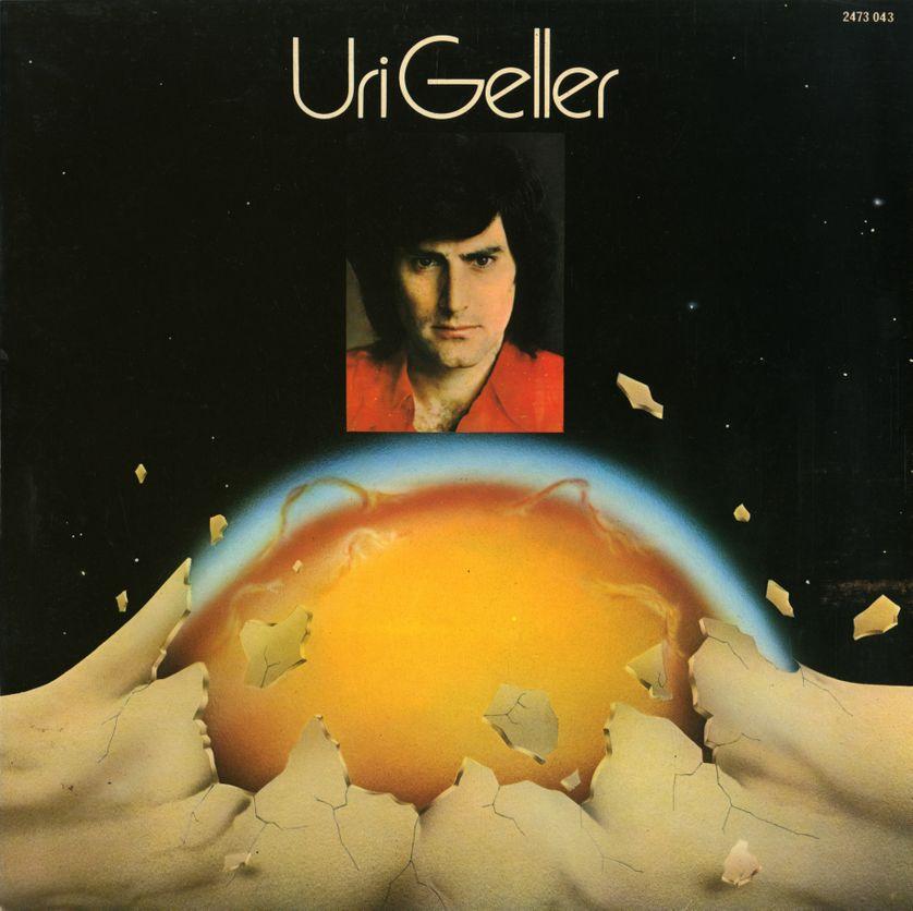 """Uri Geller - Album """" Uri Geller"""", 1974, Polydor"""