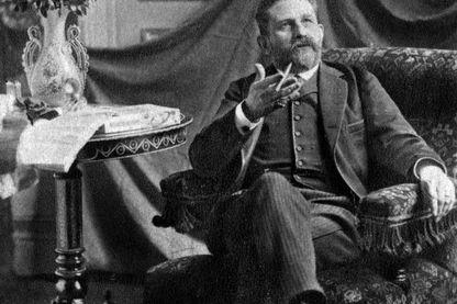 Le Général Boulanger, fondateur du boulangisme, que Mirbeau pourfendait