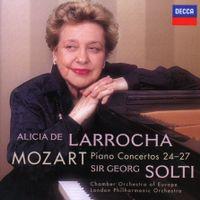 Concerto n°24 en ut min K 491 : Larghetto - pour piano et orchestre - ALICIA DE LARROCHA