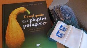 Grand guide des plantes potagères et son kit de jardinage