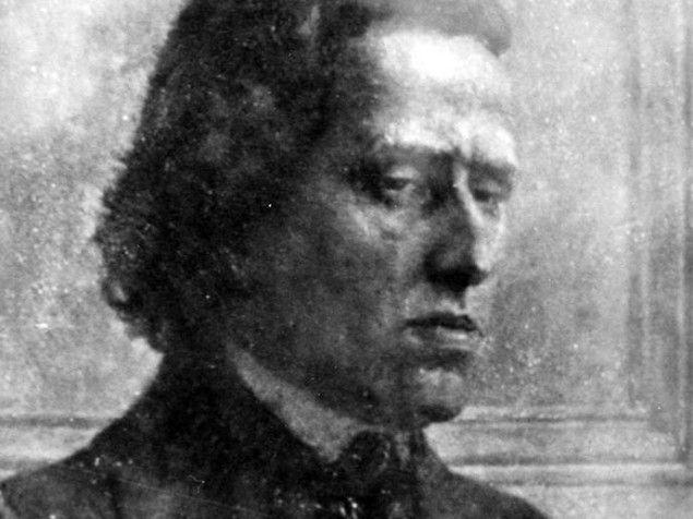 Daguerréotype supposé de Frédéric Chopin