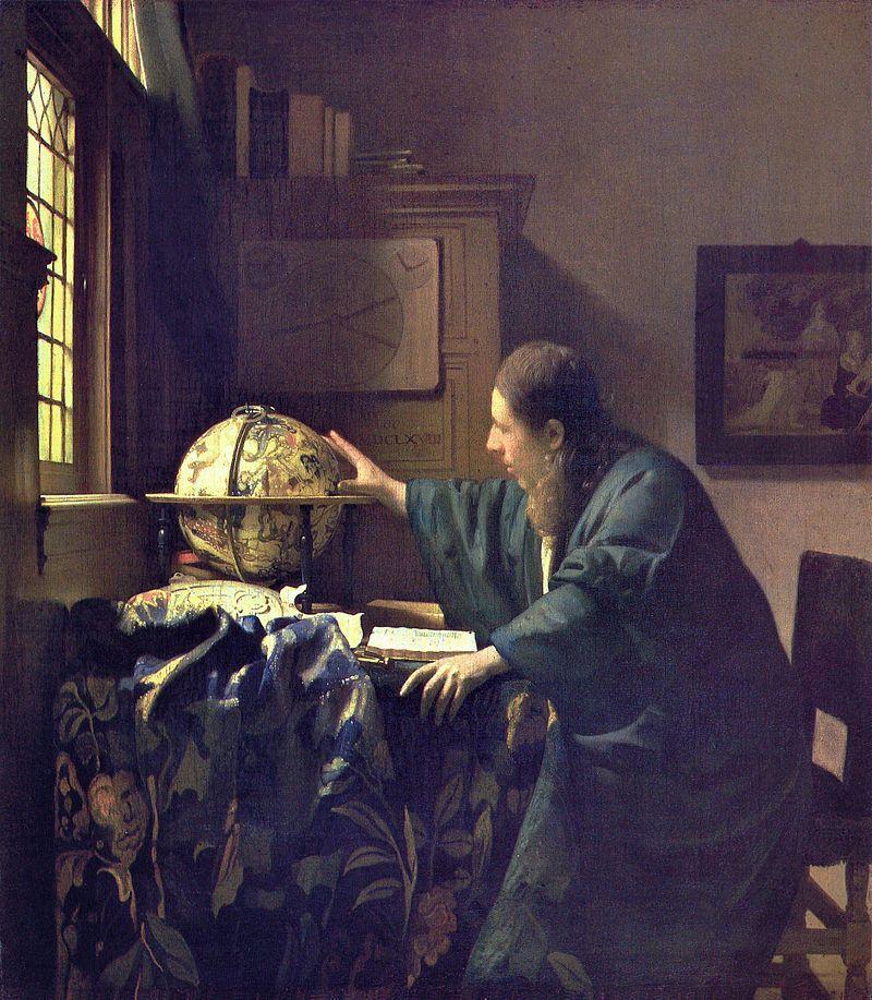 "Vermeer ""L' Astronome """