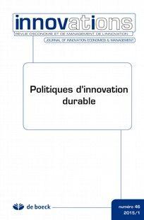 Innovation n°46. Automobile et nouveaux modèles économiques