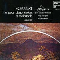 Trio en Mi bémol Maj op 100 D 929 pour piano violon et violoncelle : II. Andante con moto