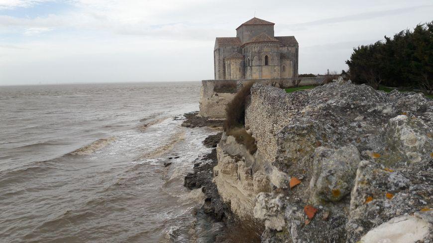 Talmont-sur-Gironde menacé par l'érosion
