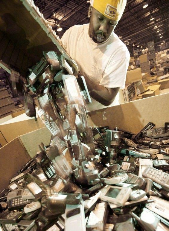 Des téléphones à recycler