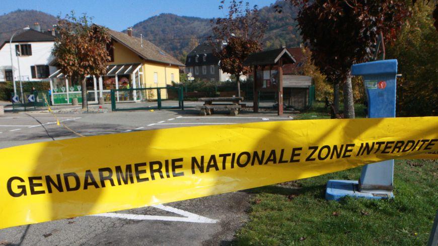 C'est sur ce parking de Bourbach-le-Haut qu'a eu lieu l'attaque du camping-cariste.