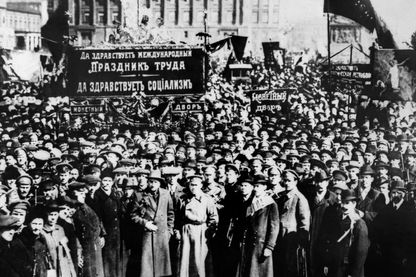 Avant la Révolution d'octobre 1917, il y a eu celle de février