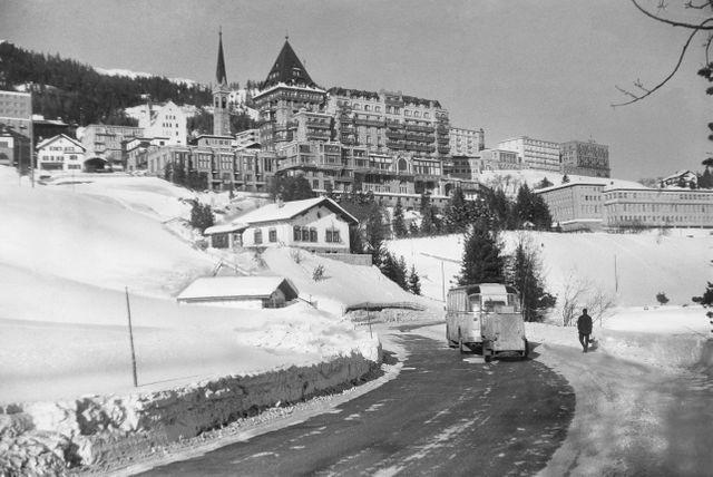 Le Palace Hotel de St Moritz
