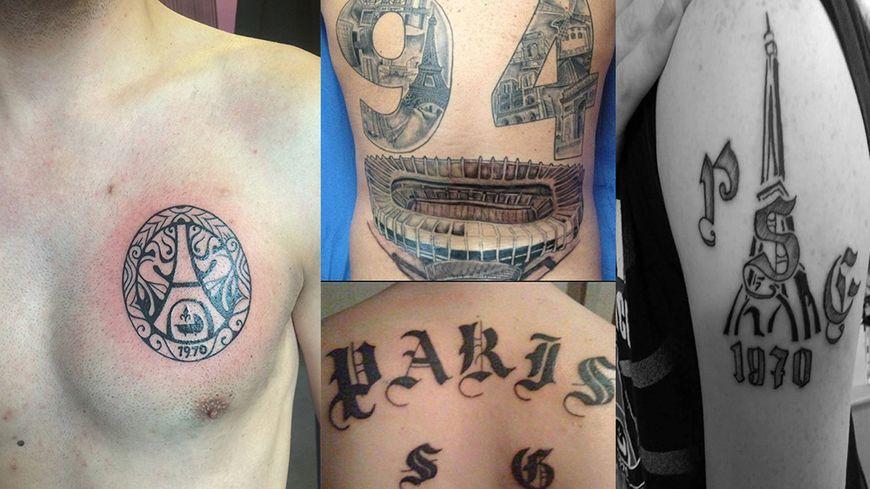 videos - tatouages : le psg dans la peau