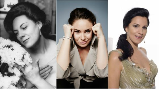 D'hier à aujourd'hui, trois sopranos - trois divas à l'affiche de Lirico Spinto...