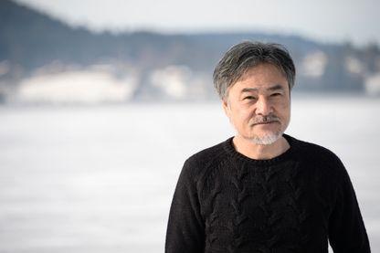 Le cinéaste japonais Kiyoshi Kurosawa pendant le 24ème festival de cinéma fantastique de Gerardmer le 28 janvier 2017.
