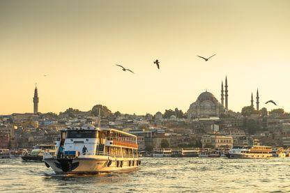 Vue d'Istanbu