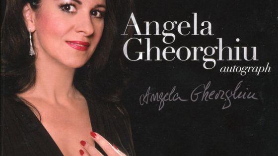 Angela Gheorghiu autograph WARNER CLASSICS