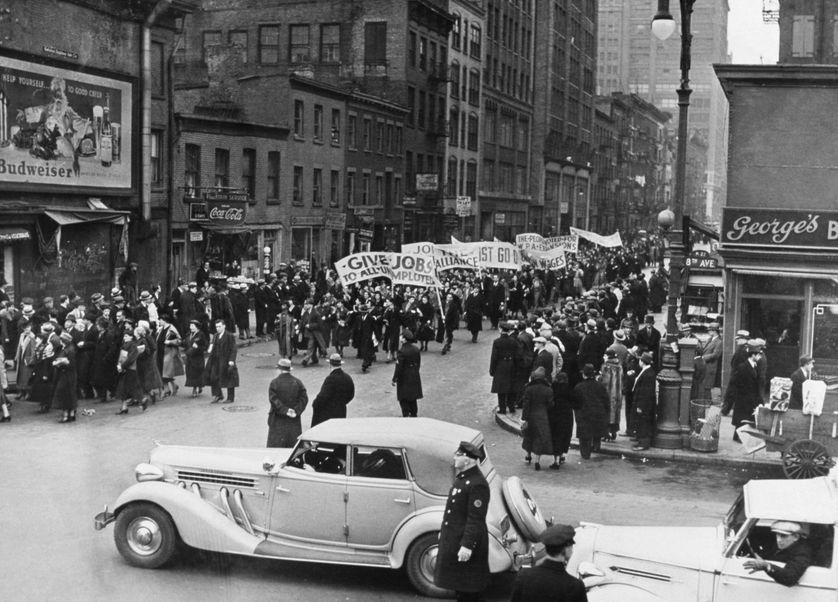 Janvier 1937, Rue de New-York