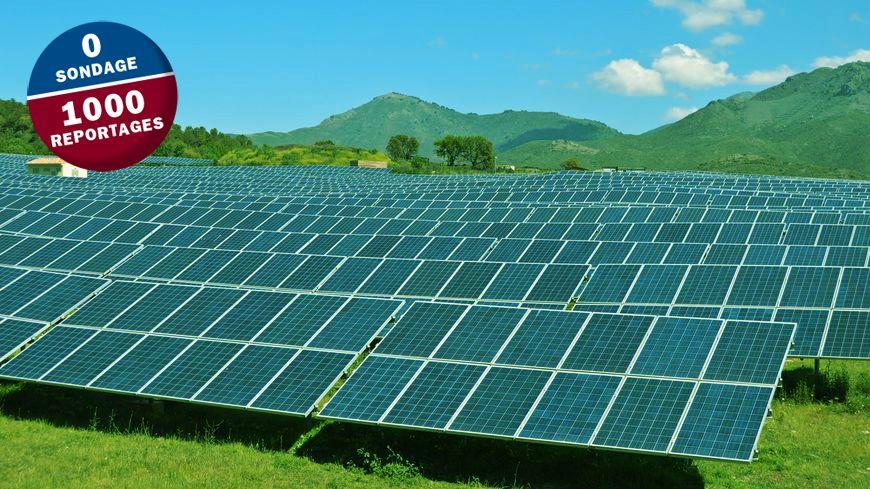 Le futur parc comptera un millier de panneaux solaires.