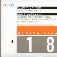 Lieder von einer insel (concerto pour violoncelle et orchestre) : Quatuor canones et cantus firmus