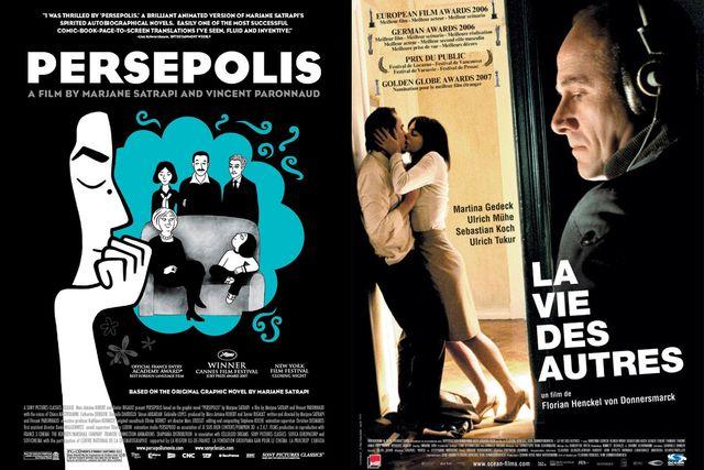 Affiches des films