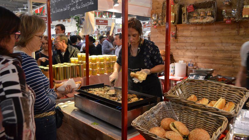 Les foies gras Toson du Buisson de Cadouin au salon de l'agriculture