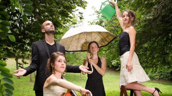 La voix intime du Quatuor Voce dans la Matinale