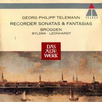 Sonate en canon en Si bémol Maj TWV 41:B3 : Vivace - pour flûte à bec et basse continue - Frans Bruggen
