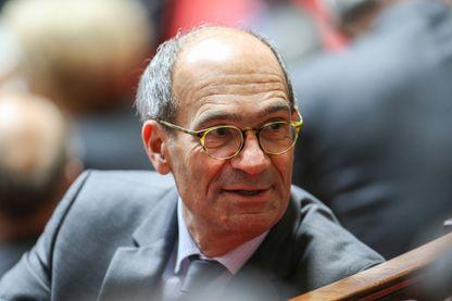 Eric Woerth à l'Assemblée nationale en novembre 2016