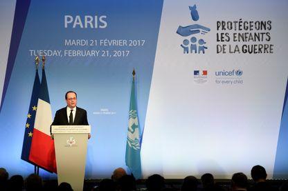 François Hollande a ouvert ce matin la Conférence internationale sur la protection des enfants de la guerre