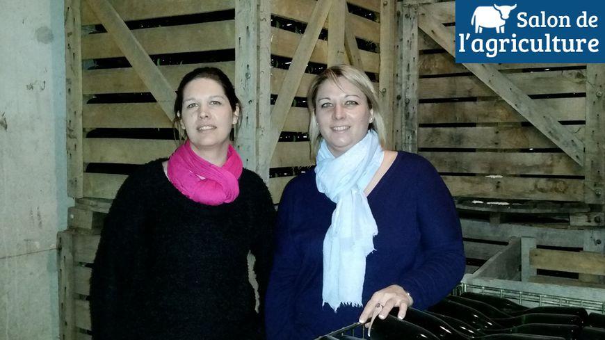 Adeline et Marie-Laure Crochet partent pendant 10 jours au Salon de l'agriculture.