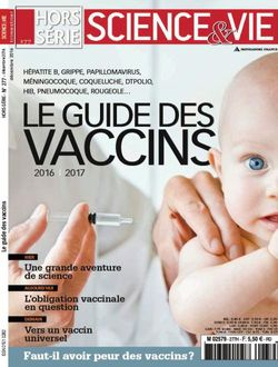 Le guide des vaccins - Science & Vie - Hors Série n°277