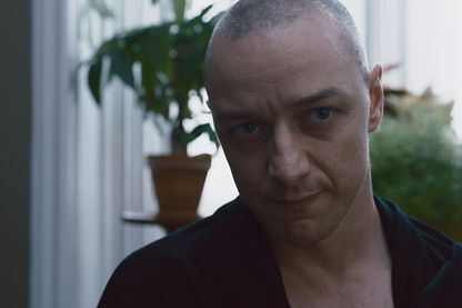 "James Mc Avoy dans ""Split"" de Night Shyamalan"