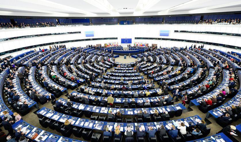 Au Parlement Européen à Strasbourg  le 17 janvier 2017